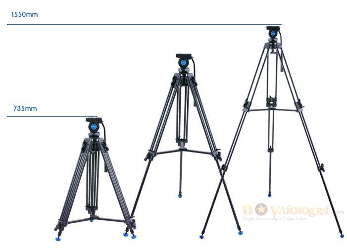 Benro kh-25n video tripod özellikleri